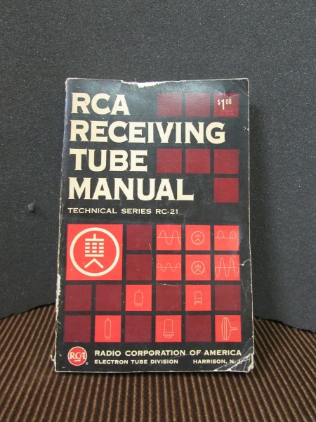 RCA RC-21 data book